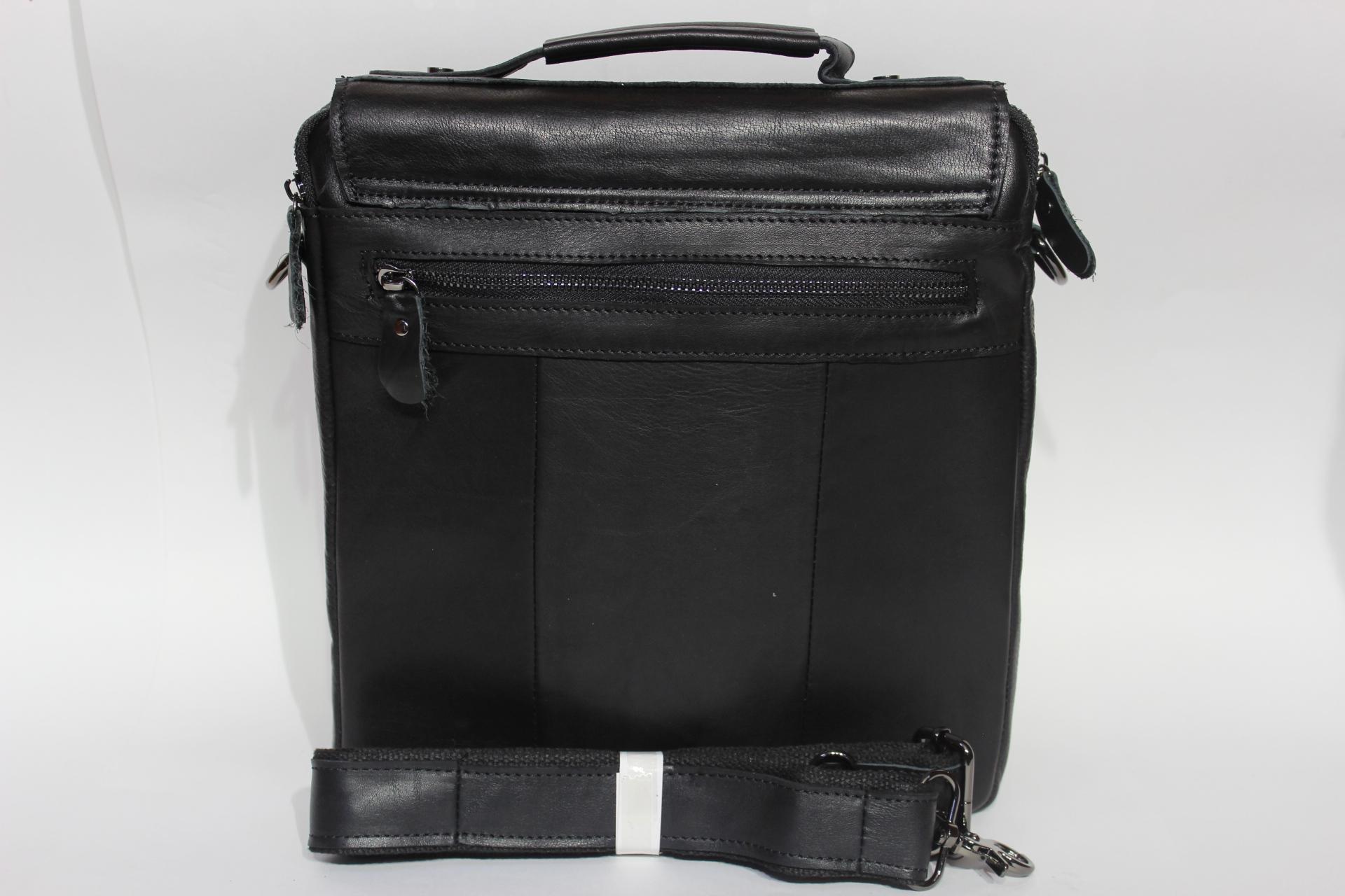 262d5d94aa50 Сумка, натуральная кожа, CANADA (канада) черный - Купить недорого